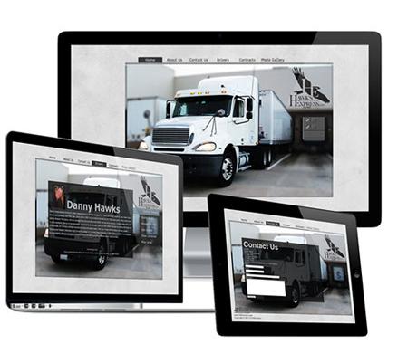 Hawks Express Website Design and Branding