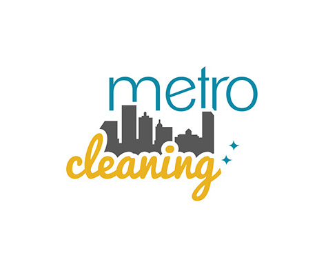 Metro Cleaning Logo Design