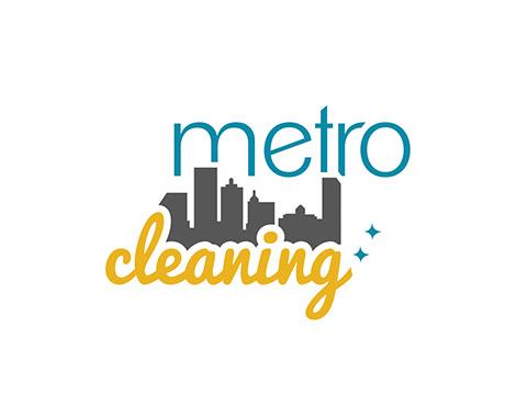 Metro Cleaning Logo Design