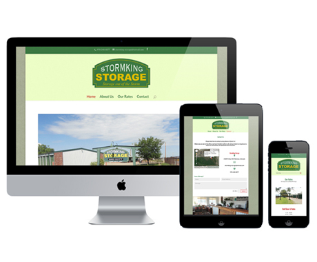 StormKing Storage Website Design