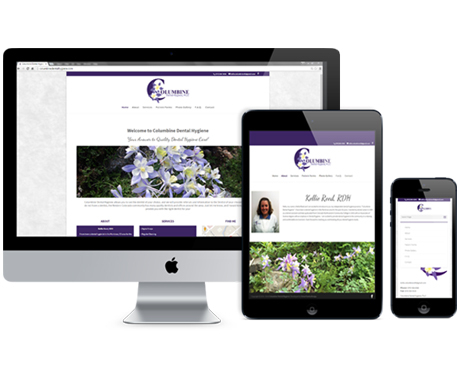 Columbine Dental Hygiene Website Redesign