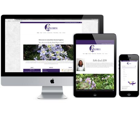 Columbine Dental Hygiene Website Redesign