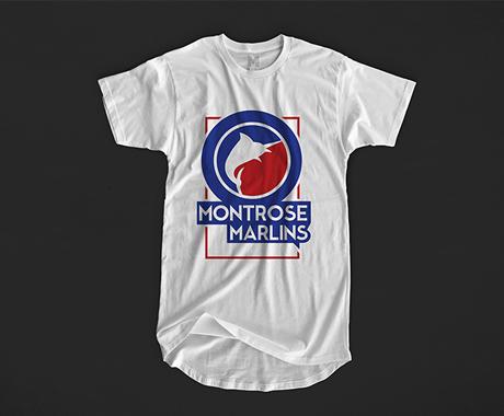 Montrose Marlins Swim Team Branding